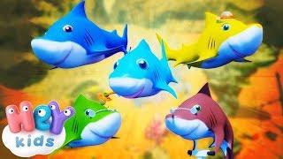 Bebé tiburón - Las mejores canciones infantiles - Mix   HeyKids