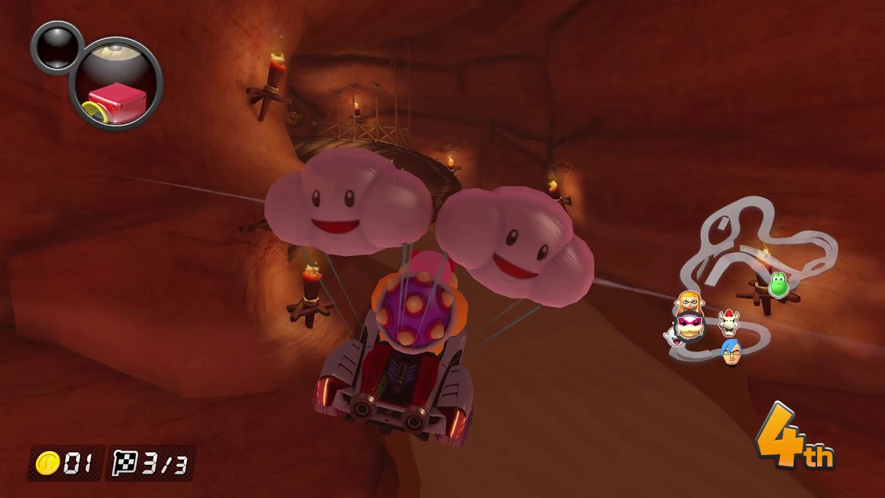 Mario Kart 8 Deluxe Video E307 Falling Off Youtube
