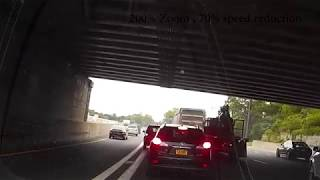 Accident Captured on Long Island Expressway Dashcam