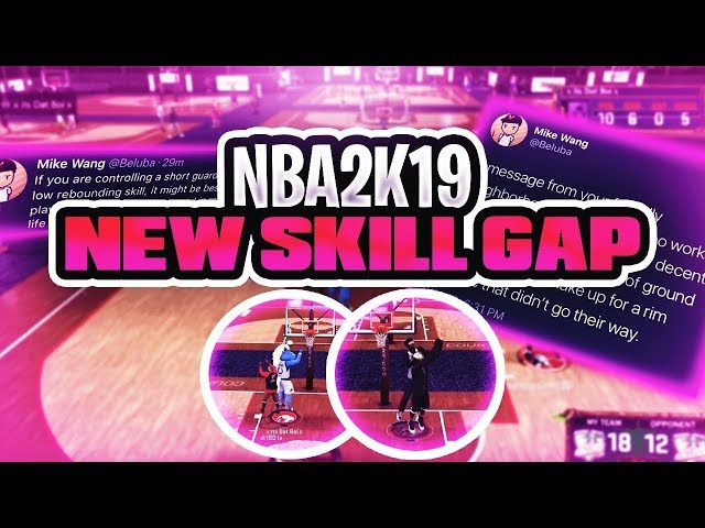 NBA 2K19 NEWS -  NO POST SCORING? GLASS CLEANER SKILL GAP!