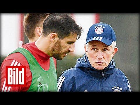 """Jupp Heynckes beim FC Bayern München -  """"Ich muss dem Team eine klare Hierarchie zurückgeben."""""""