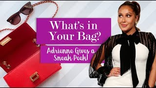 WEB EXCLUSIVE: Adrienne's Must-Haves for Traveling!