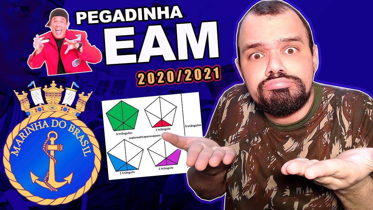 🚢 EAM 2020/2021  🚢 QUESTÃO PEGADINHA | EAM | eam | pentágono eam 2020/2021🏆