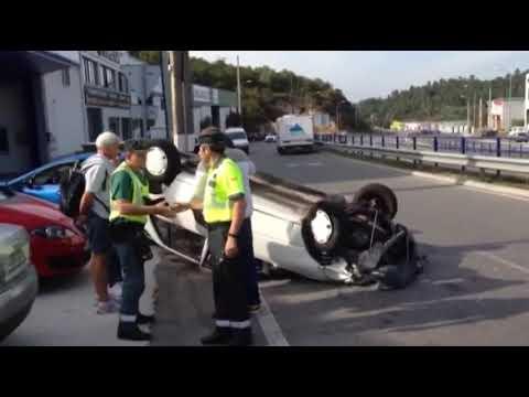 Accidente Polígon de Barreiros 10-10-2018