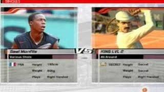 Virtua Tennis 3 Beating King