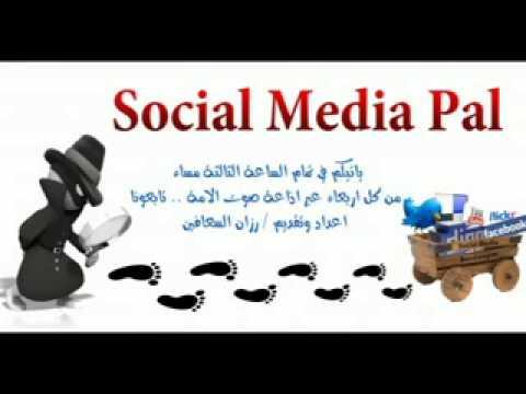 العلاقات الاجتماعية بين العالم الواقعي والافتراضي   Social Media Pal