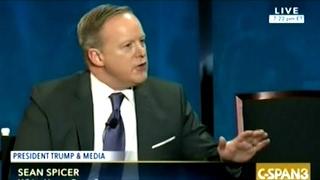 White House Press Secretary Sean Spicer On Media Bias And President Trump