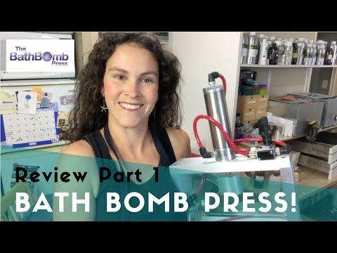 Bath Bomb Press Review - Bath Bomb Machines Product Review Part 1