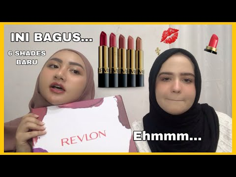 revlon-super-lustrous-bold-matte-lipstick-swatches-|-bahasa-indonesia-|-diendiana