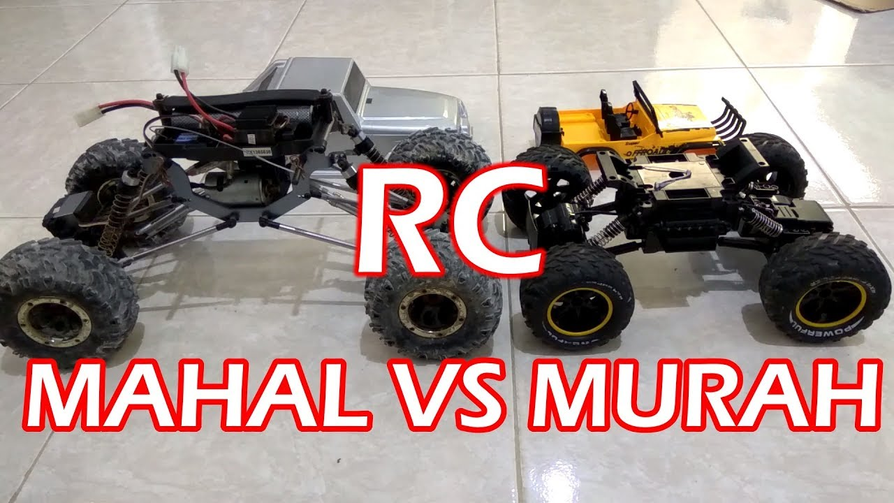 Beda Rc Rock Crawler Murah Vs Mahal Kelas Hobby Youtube