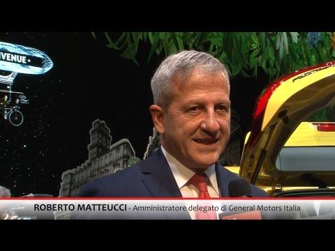 INTERVISTA ROBERTO MATTEUCCI A.D. GENERAL MOTORS ITALIA