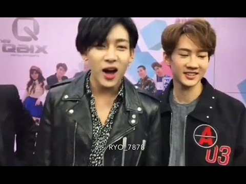 170404 Behind the scenes GOT7 BamBam at Channel 3 in Thailand (Facebook Live)