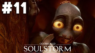 ODDWORLD SOULSTORM PS5 Gameplay Walkthrough Part 11 - THE SANCTUM (Level 11)