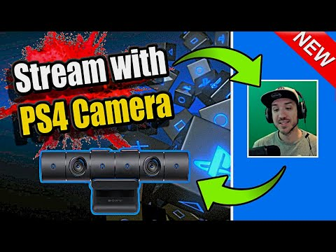 PS4 CAMERA Streaming Tutorial (Set Up, Green Screen and More!)
