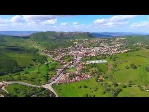 Vista aérea da cidade de Mata Grande, sertão alagoano