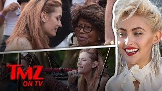 Paris Jackson Performs as Her Grandmother Cheers Her On | TMZ TV
