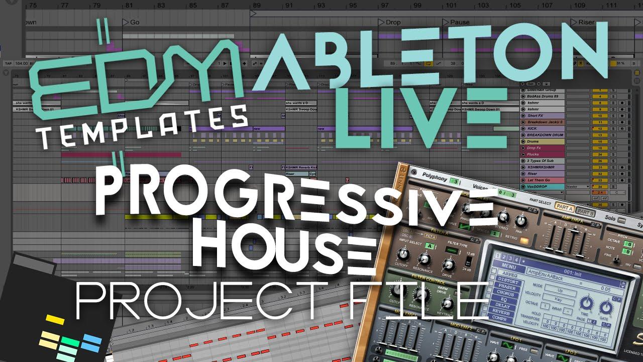 how to make progressive house ableton