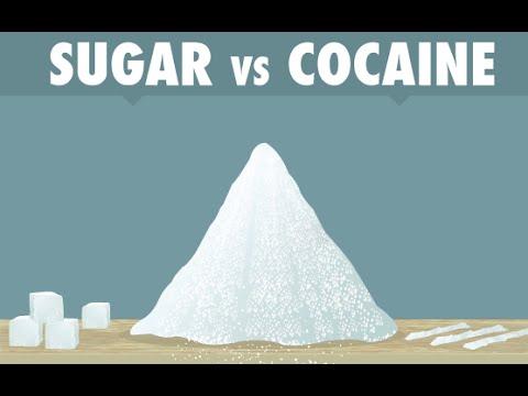 SUGAR IS AS ADDICTIVE AS COCAINE!!