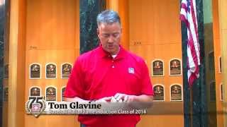 Tom Glavine Demonstrates His Pitch Grips - Pointers From the Pros