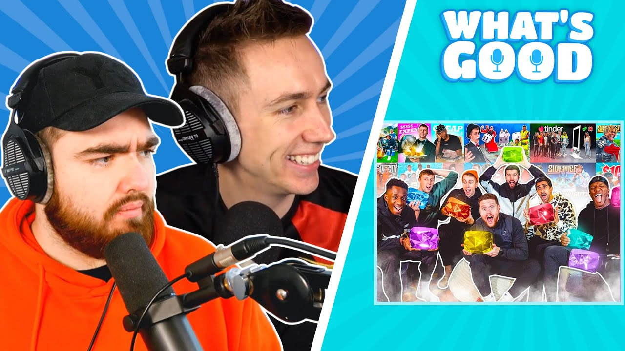 Sidemen Sunday Truths, Miniminter Exposed and is Talia Mar Siri?? - What's Good Full Podcast ep.87
