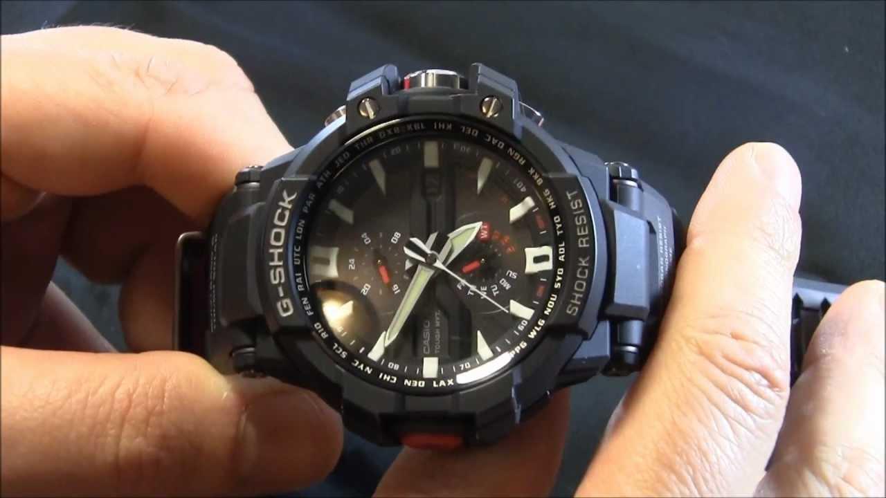 Casio G Shock Gw A1000 Watch Review Youtube