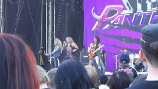 Steel Panther Party All Day @ Sauna Open Air Metal Festival 2010 Tampere