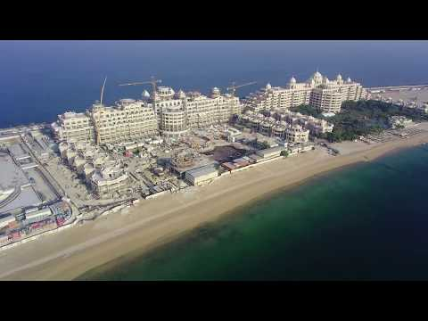 Emerald Palace Kempinski Hotel, Palm Jumeirah Dubai, Construction Update 31/05/2017