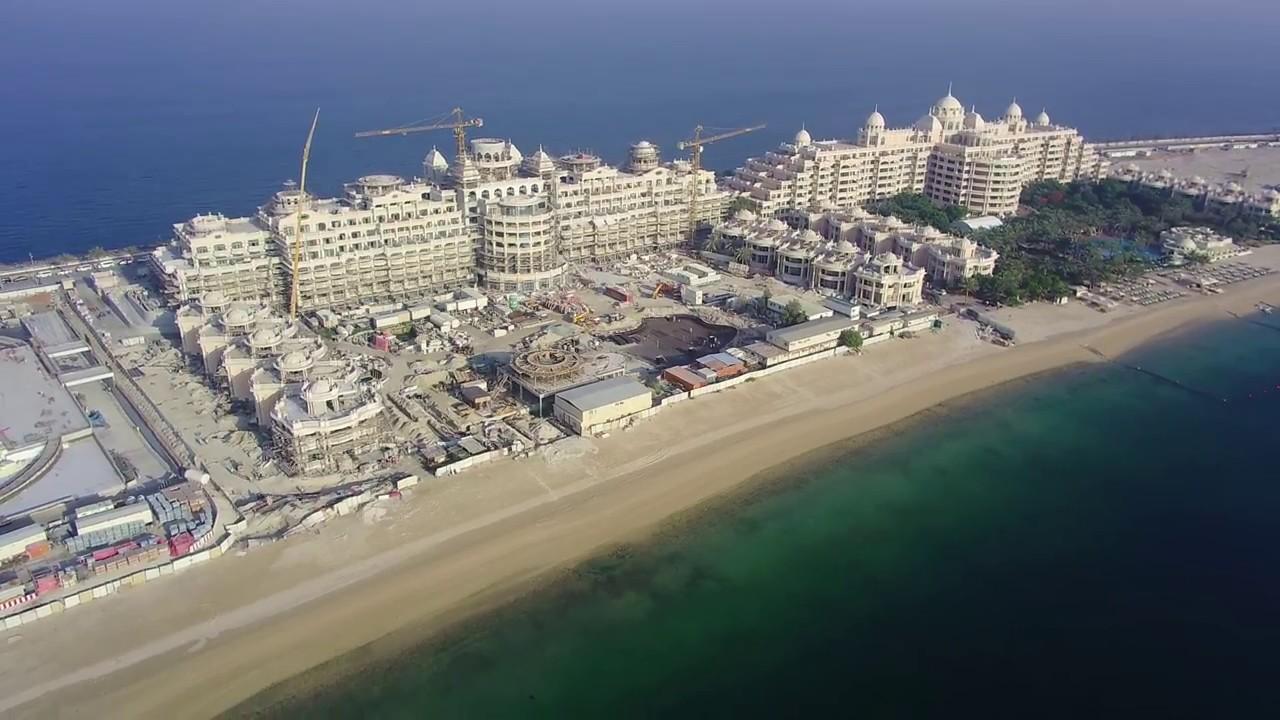 Emerald Palace Kempinski Hotel Palm Jumeirah Dubai Construction Update 31 05 2017