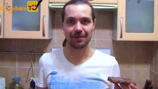 Мини  рецепт - вкусные бутерброды с чесноком и салом