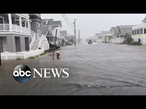 Tropical storm Fay hits the Northeast | WNT