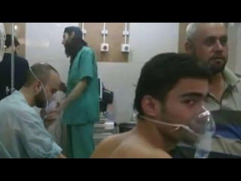 Report: Hundreds hospitalized in Aleppo gas attack