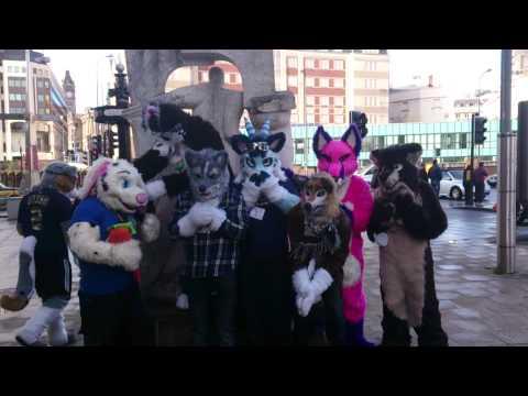 Birmingham UK Fursuit Walk March 2014