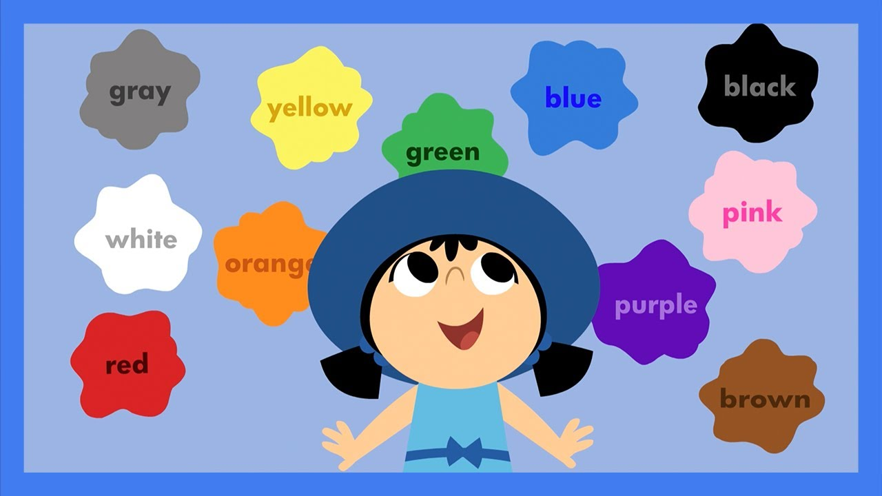 look at all the colors i can see by abcmousecom youtube - All The Colors Of The Rainbow Song