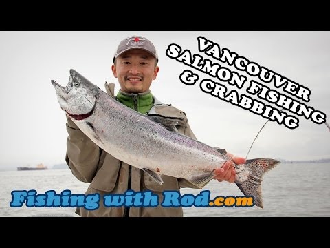 WINTER SALMON FISHING AND CRABBING IN VANCOUVER | Fishing With Rod
