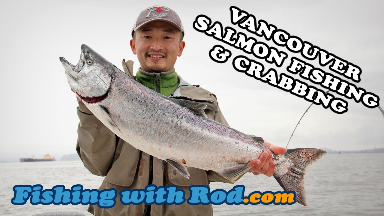 Fishing with rod vancouver salmon fishing crabbing for Salmon fishing vancouver
