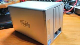 NAS TerraMaster F2-220 - Un Mini NAS sous CPU Intel !