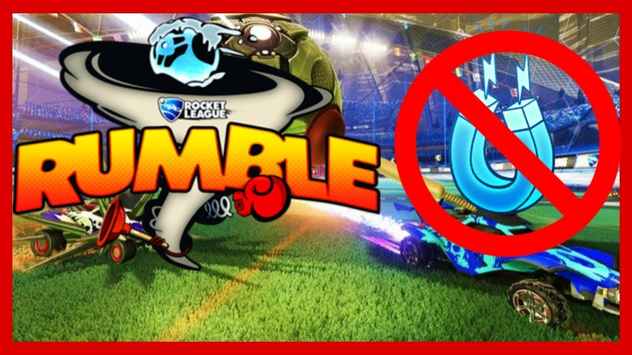 Rumble But The Power Ups Are Removed Rocket League Rumble No Power Ups Challenge Youtube