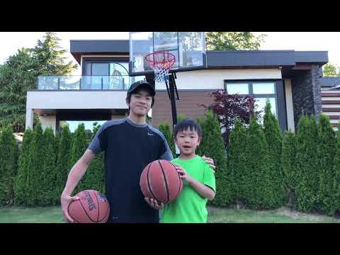 Jordan & Taylor's Basketball Trick Shots