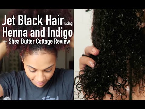Dyeing My Hair Black with Henna and Indigo