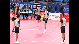 30th SEA Games 2019 in Philippines, Men' s Hoop Takraw Final