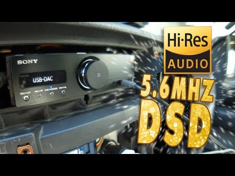 Your order UPDATES! and Hi RES Car Audio 5.6MHZ DSD, Sony RSX-GS9 - AMPLIFIED #663