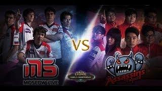 Repeat youtube video TPA vs M5 - Game 3 - Season 2 Semi Finals