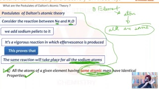 atoms and molecules class 9