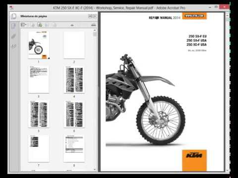 ktm 250 sx f xc f 2014 service manual wiring diagram. Black Bedroom Furniture Sets. Home Design Ideas