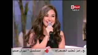 هو ولا هي - شيرى عادل تغني لأول مرة أنا قلبي دليلى وصوتها الرائع يجبر أحمد السعدنى أن يغني معها