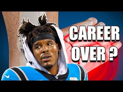 Cam Newton Horrible Injury due to Vegan Diet