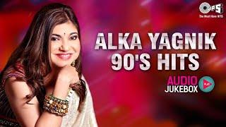 Alka Yagnik 90's Hits Audio Jukebox | 90's Bollywood Songs | Full Songs Non Stop