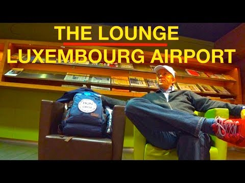 THE LOUNGE LUXEMBOURG AIRPORT | Star Alliance | #HonCircle Senator Business