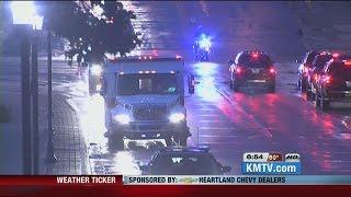 US doctor infected with Ebola arrives at Nebraska Medical Center