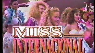 Miss International 1989 ( Versión Venevisión, 1989 )
